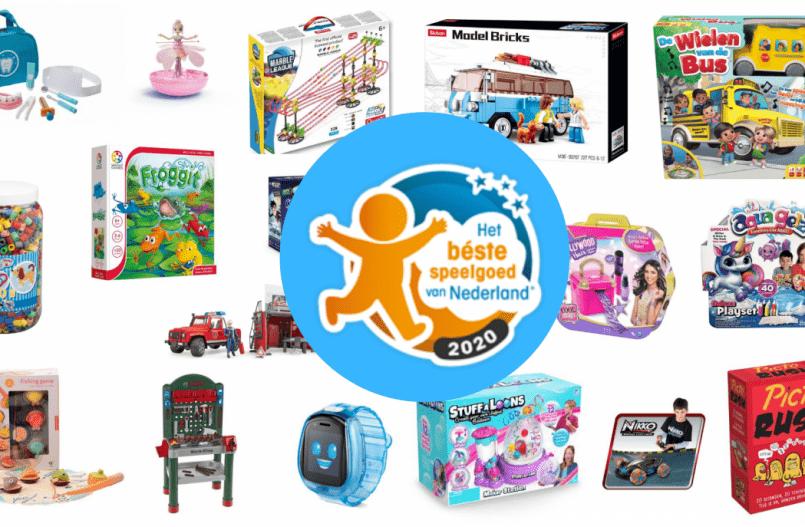 Het Beste Speelgoed van Nederland 2020 - De Genomineerden