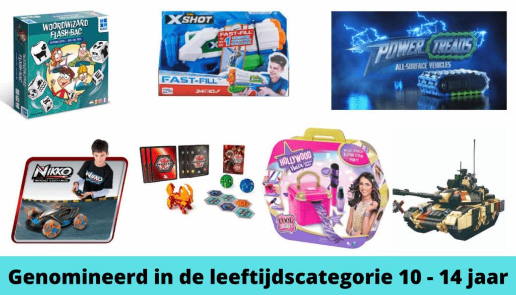 Het Beste Speelgoed van Nederland de Genomineerden 10 - 14 jaar