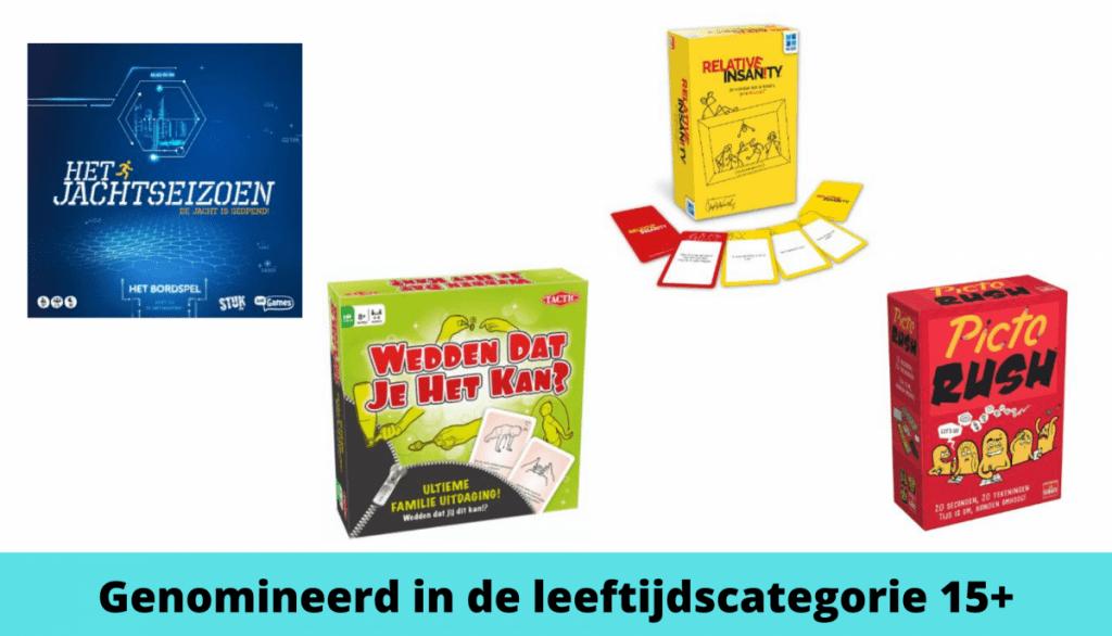 Het Beste Speelgoed van Nederland de Genomineerden 15+