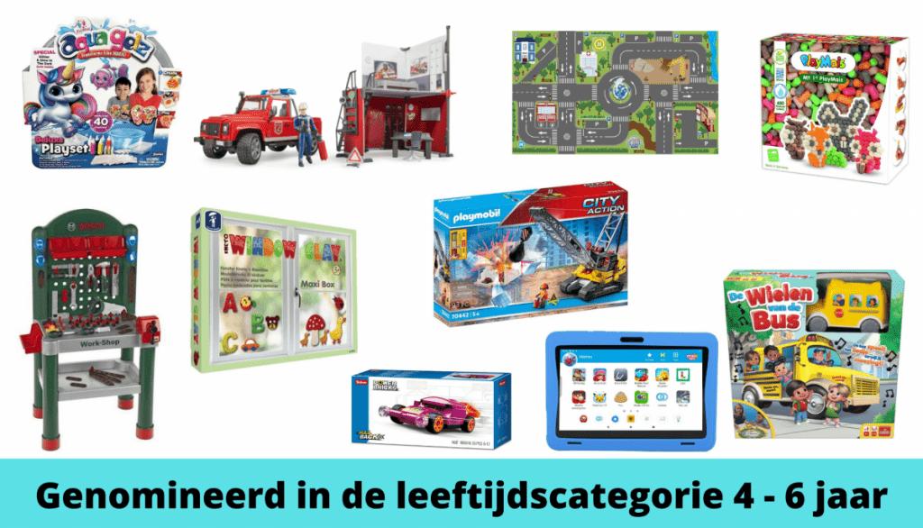 Het Beste Speelgoed van Nederland de Genomineerden 4 - 6 jaar