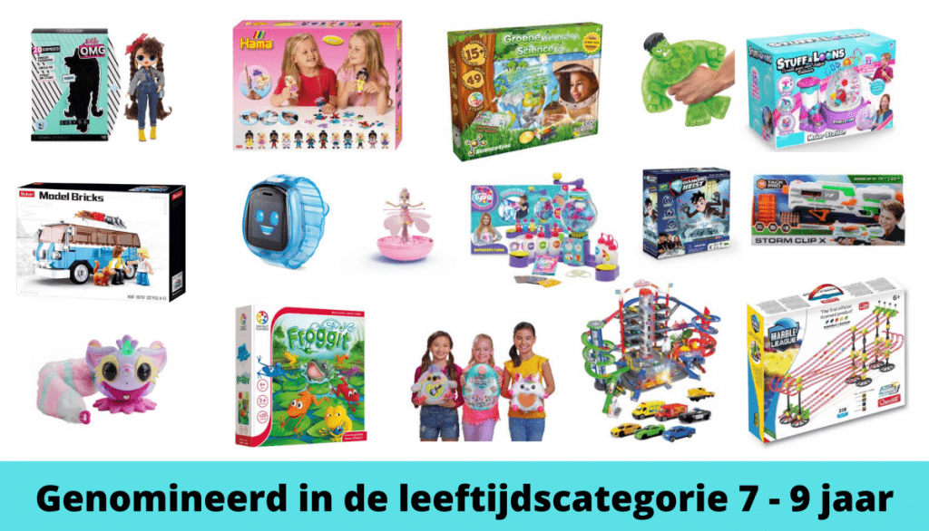 Het Beste Speelgoed van Nederland de Genomineerden 7 - 9 jaar
