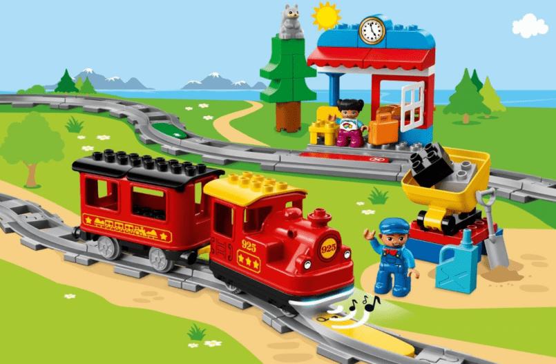 LEGO DUPLO stoomtrein accessoires