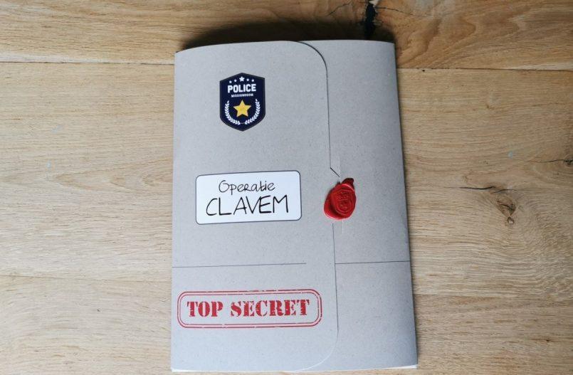 Operatie Clavem - Escape Room voor thuis