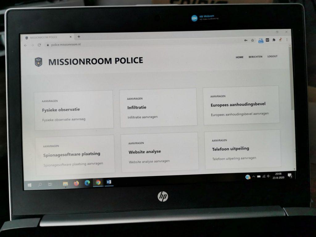 Police Mission Room