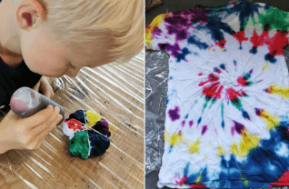 Tie Dye shirt maken