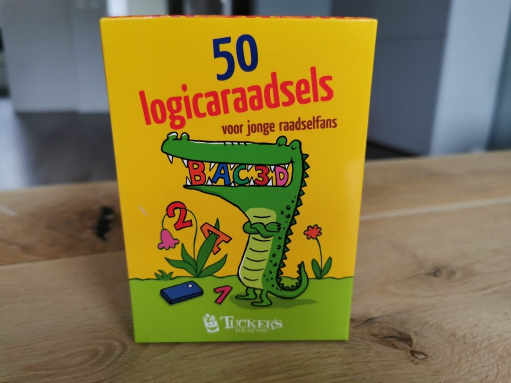50 Logicaraadsels voor kinderen