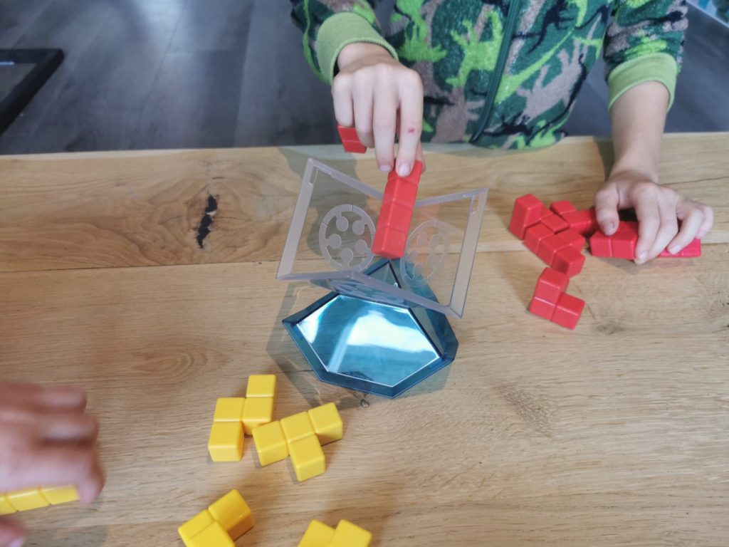 Cube Duel spel - 2 spelers