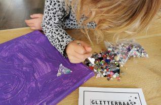 Glitterbaas - knutselen met glitters