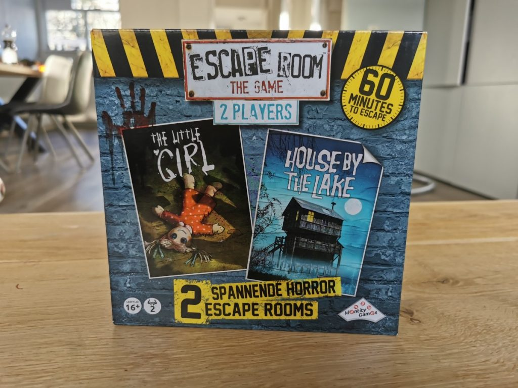 Escape Room The Game - 2 Player - Horror - Identity Games