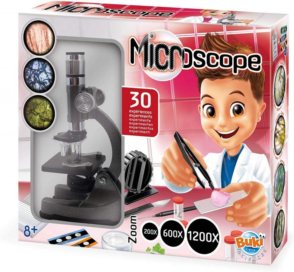 Microscoop 30 experimenten van BUKI - Educatief speelgoed