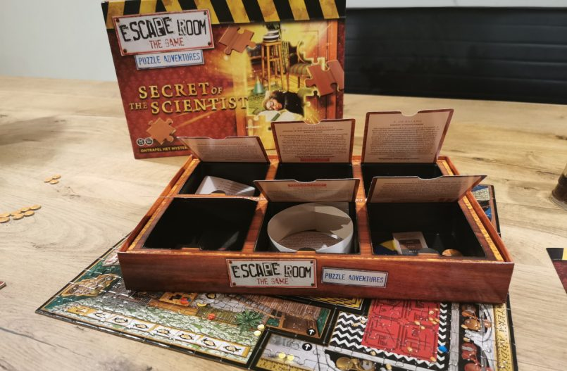 Escape Room The Game Puzzel- Secret Of The Scientist