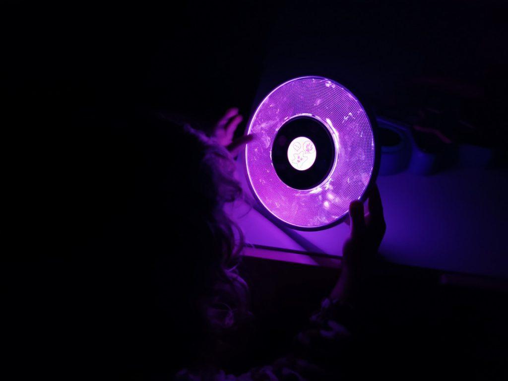 Kidi Smart Glow Art in het donker