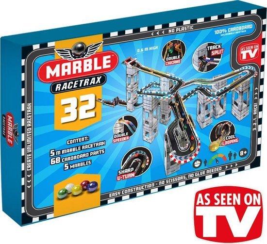 Marble Racetrax - Knikkerbanen