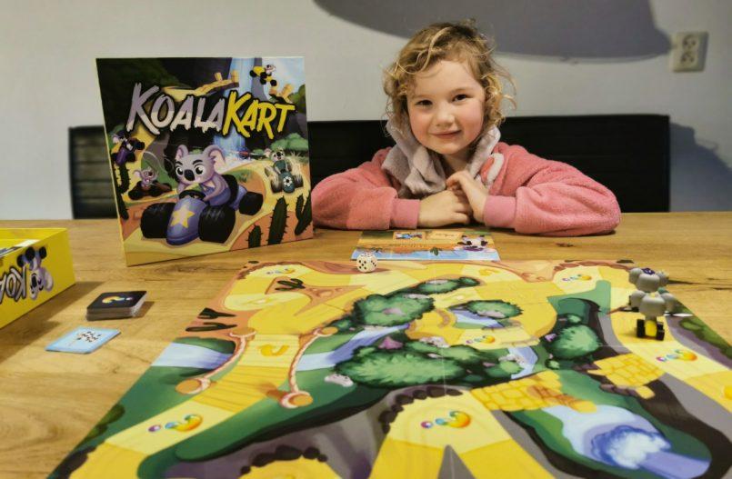 Koala Kart het bordspel