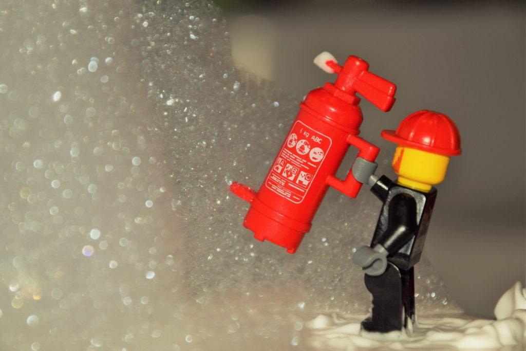 LEGO schoon