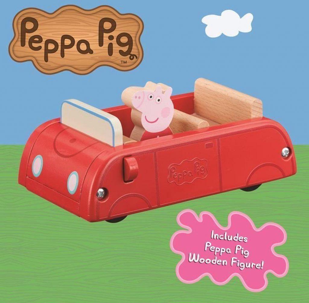 Peppa Pig - Houten Familie Auto