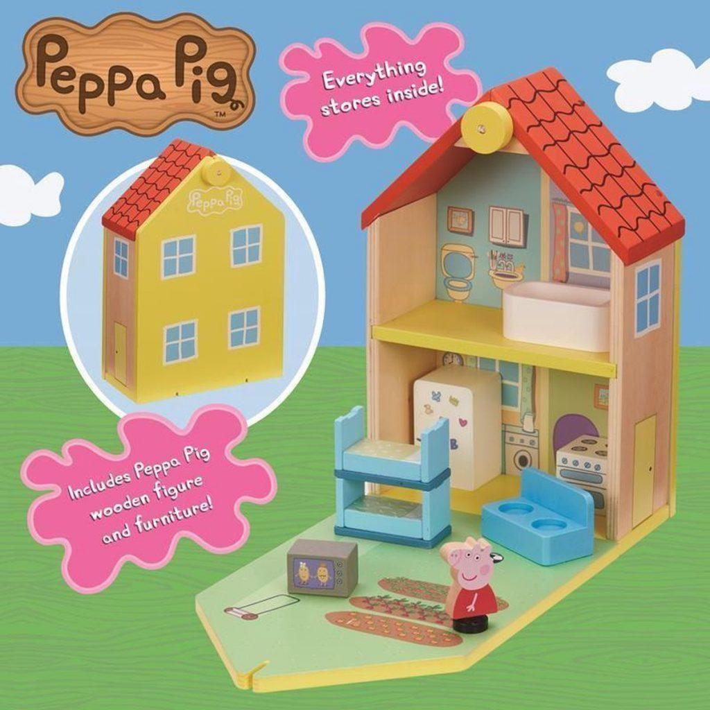 Peppa Pig - Houten Familie Huis