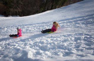 speelgoed voor in de sneeuw