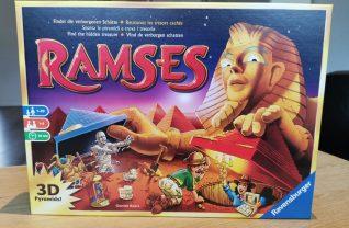 Het bordspel Ramses van Ravensburger