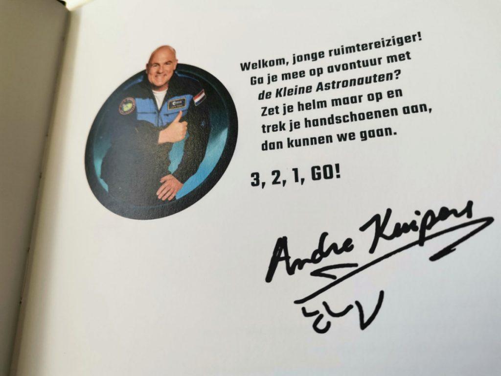 kinderboek van André Kuipers: 3, 2, 1, GO!