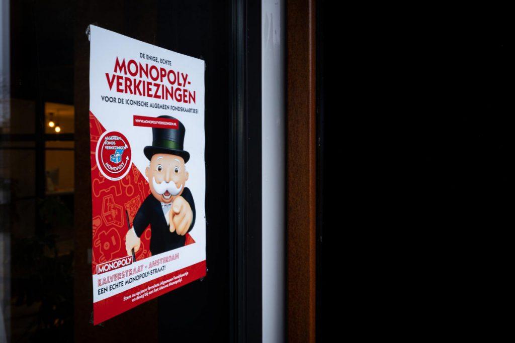 Monopoly Algemeen Fonds verkiezing