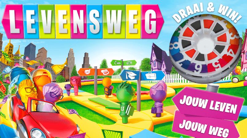 Vernieuwd bordspel Levensweg Hasbro