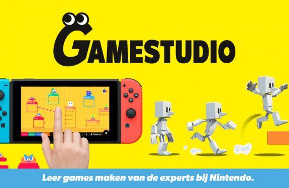 Gamestudio voor de Nintendo Switch