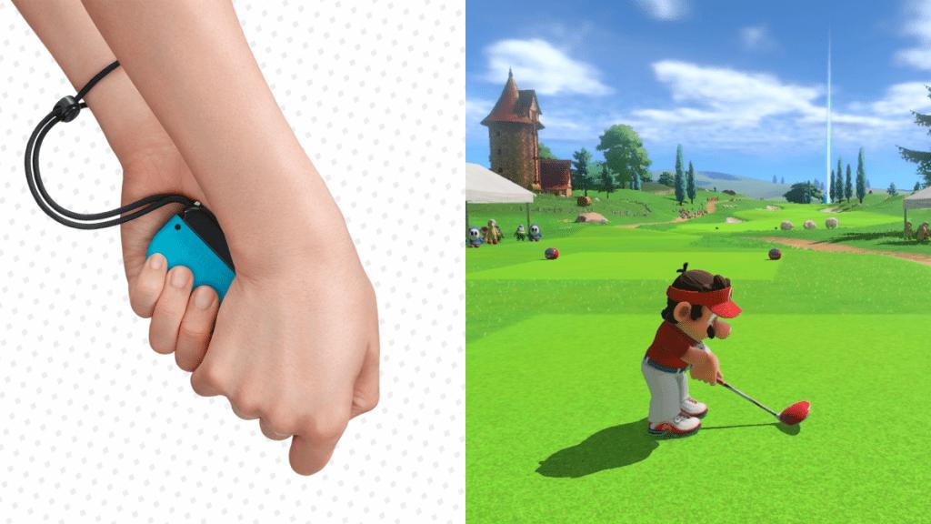 Mario Golf Super Rush besturing