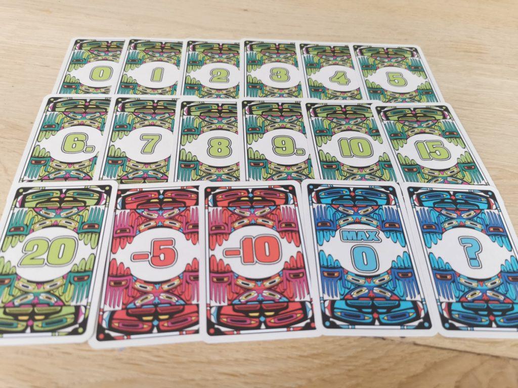 Kaartspel Coyote - de kaarten