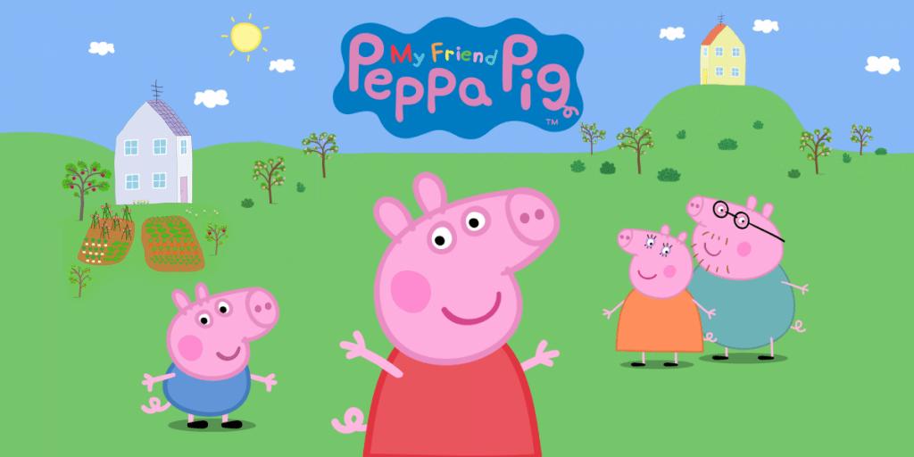 Mijn vriendin Peppa Pig