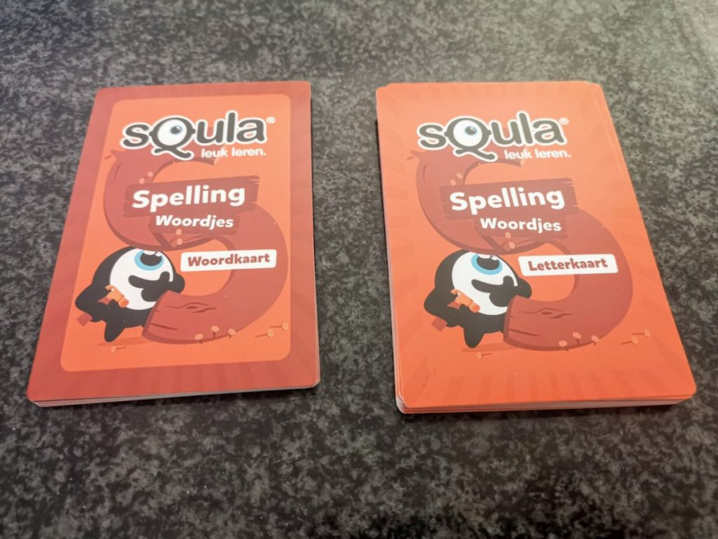 Squla Spelling - woordjes 4