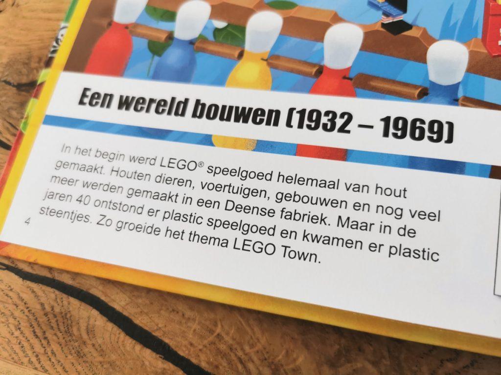 LEGO door de jaren heen